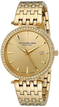 NEW Stuhrling Women's 579.03 Soiree Tiara Swarovski Watch Toronto