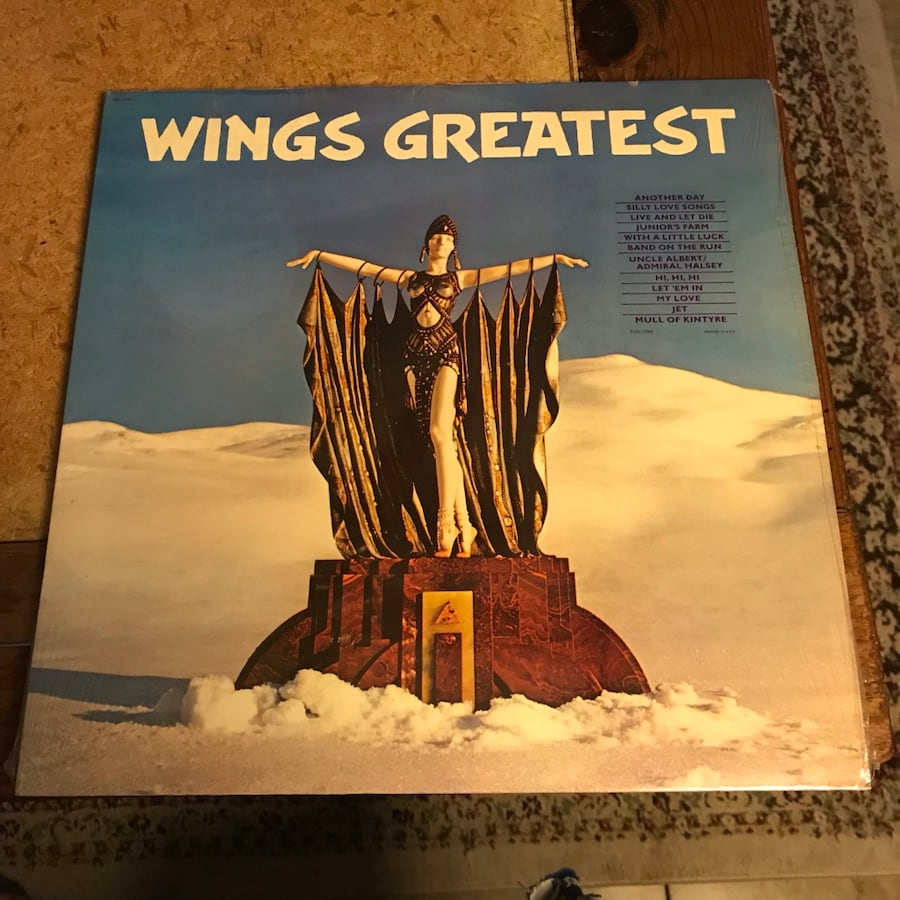 Wings Paul McCartney lp Vinyl Album Record