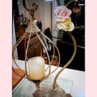 Gorgeous wrought iron hanging candle holder  Whitby, L1N 8X2