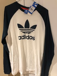 Adidas long sleeve T-shirt, Brand NEW w/tags (Youth XL) 15/16 Vaughan, L4K 5L6
