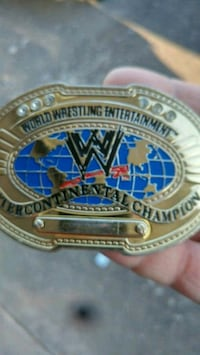 Wwe intercontinental title belt buckle Stayton, 97383