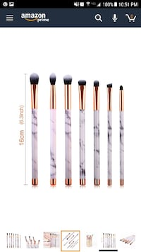 New marble makeup brush set Reynoldsburg, 43068