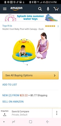 Duck shaped pool for toddlers Bellevue, 98005
