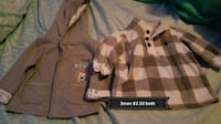 brown and white camouflage jacket Patterson, 95363