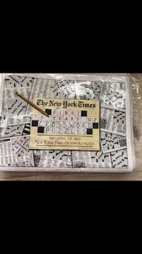 New York Times: First 75 Years of Crossword Puzzles Aurora, L4G 2T7