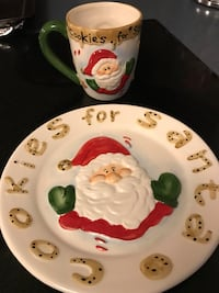 **BRAND NEW** SANTA PLATE AND MUG Guelph, N1G 5A9