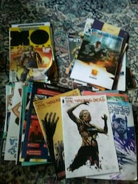 Large lot of comic books  McLean, 22102