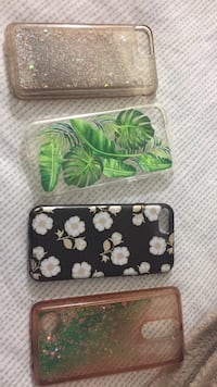 two black and green floral iPhone cases Alexandria, 22303