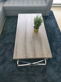 rectangular brown wooden coffee table Surrey, V3T 1H9
