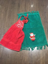 Kitchen Christmas hand towels