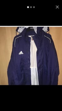 Vintage adidas blue windbreaker size XL London, E1 4PH