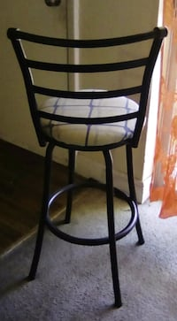 black metal framed high chairs pair of 2 Orlando, 32839