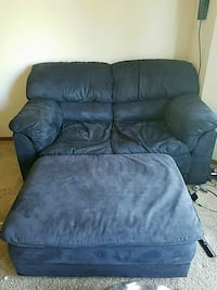 black leather recliner sofa chair Plymouth, 55442