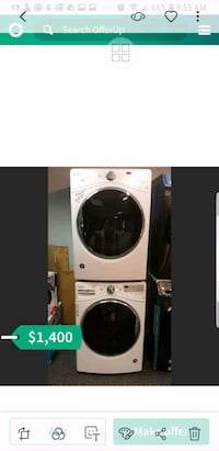 white and black front-load washer St. Louis, 63146