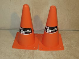 """Two new 12"""" Safety Cones"""
