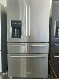Dent kitchen features French door refrigerator  North Miami Beach, 33162