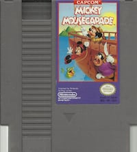 NES Mickey Mousecapade game cartridge in excellent used condition game cleaned, tested and in working order +++++++++++++++++++++++++++++++++++++ Pick-up in Newmarket