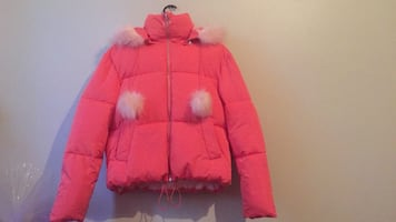 Pink Bubble Jacket!!