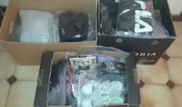 BRAND NEW CLOTHES AND LIKE NEW CLOTHES WORN ONCE SIZE XS TO XL