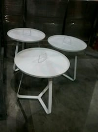 Outdoor tables 20x21
