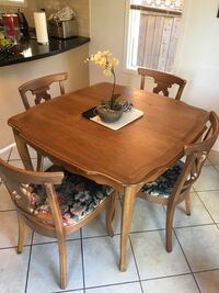 Real Wood  dining table set 4 chairs Make an Offer! Richmond Hill, L4S