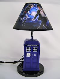 Dr Who Tardis Table Lamp with Sound & Light Effects Dublin