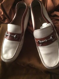 pair of brown leather loafers Philadelphia, 19136
