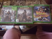 two Xbox One game cases