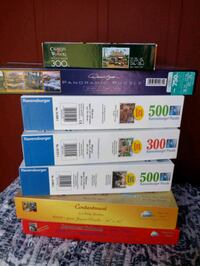 Puzzles JigSaw preowned  Houston, 77088