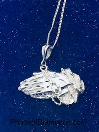 Sterling silver praying hands pendant with necklace Brampton, L6R 2C5