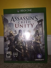 Assassin's Creed Unity Xbox One game case Athens, 37303