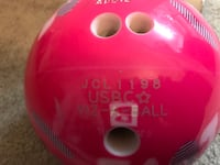 Barbie bowling ball Columbia