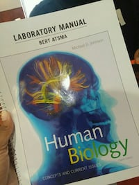 Human Bio lab book (8th ed.) Paterson, 07522
