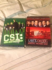 Csi and law and order vhs