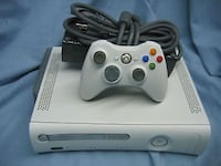 white Xbox 360 console with controller Roseville, 95678