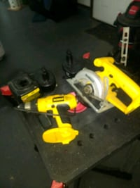 DeWalt cordless variable drill and saw