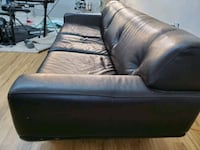 Custom high grade real leather couch.  Retail 5000.00 Calgary, T2M 0X9