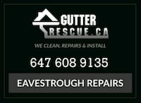 eavestrough cleaning Hamilton, L8T 1X5