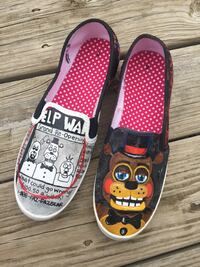 5 Nights At Freddy Shoes