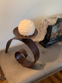 Free standing antique lamp matching candle holders Lake Grove, 11755