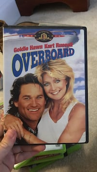 Overboard DVD movie case Fairfax, 22030
