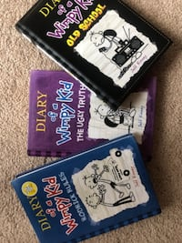 Diary of a Wimpy Kid Books  ASHBURN
