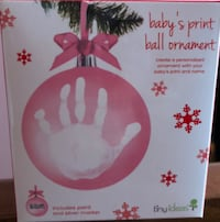 Baby's print Christmas ornament Laval