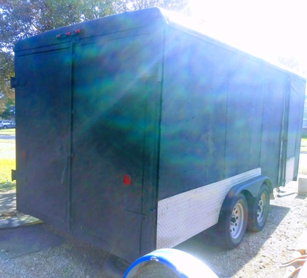 Sold Homemade Enclosed Trailer in