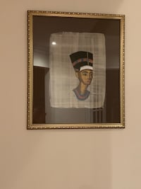 Hand made Cleopatra portray framed already . It's been hand made on  Richmond Hill, L4S 0B3
