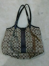 Large brown Coach purse