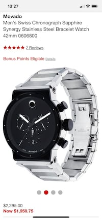 Movado watch for sale Baumholder, 55774