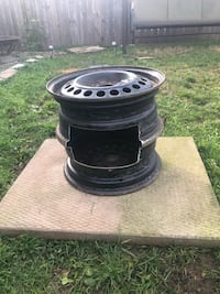Home crafted Wood stove / fire pit