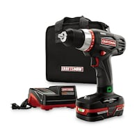 CRAFTSMAN 19.2 V DRILL WITH BATTERY AND CHARGER PERRIS