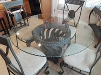 Kitchen Table & Buffet w 4 chairs Leander, 78641